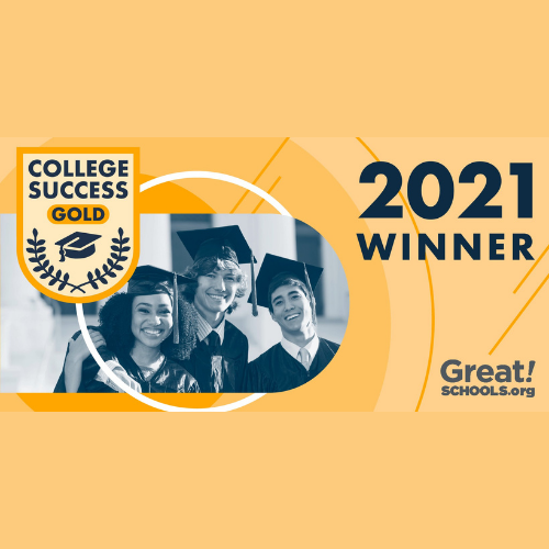 graphic reads great schools college success gold winner