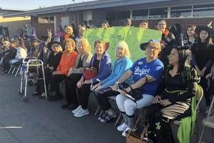 Brookdale residents attend Halloween parade