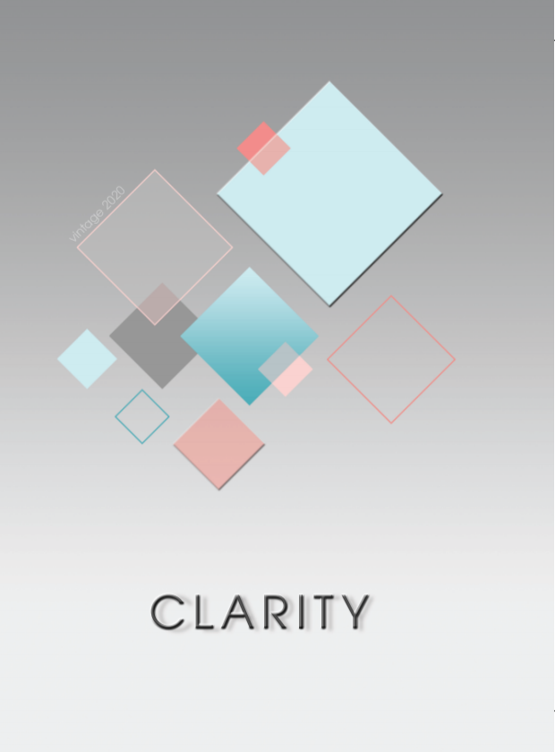 2019-20 Yearbook Cover: Clarity