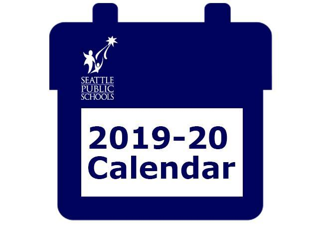 2019-20 School Year Calendar Featured Photo