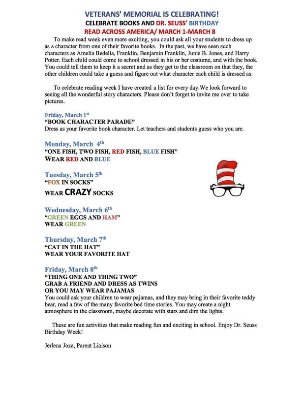 dr. seuss events this week