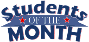 students of trhe month