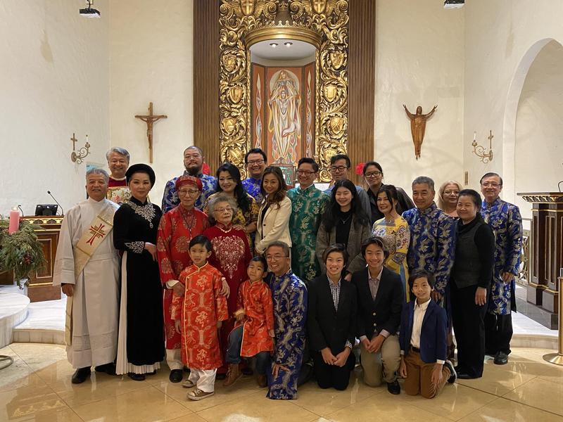 Father Truc Celebrates Silver Anniversary of His Ordination! Featured Photo