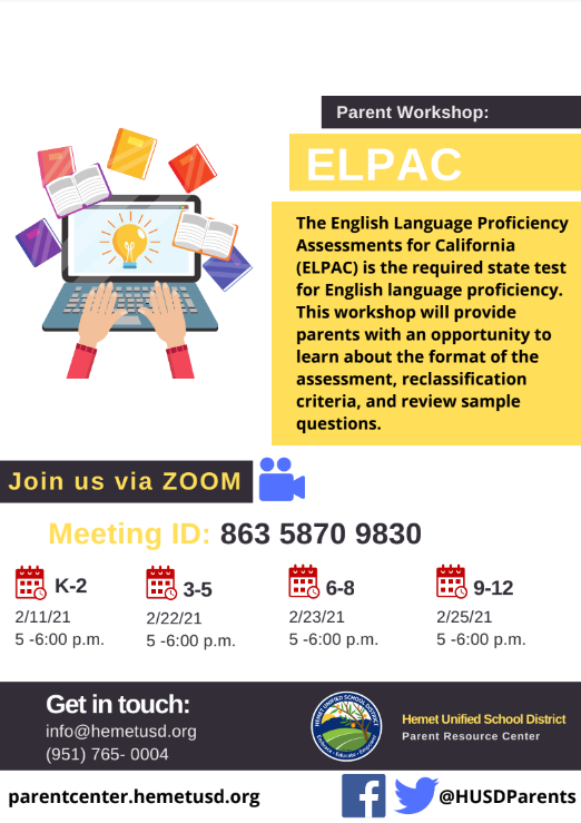 ELPAC Flyer