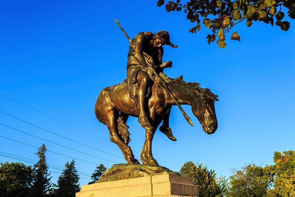 The End of the Trail is a sculpture by James Earle Fraser located in Waupun, Wisconsin, United States.