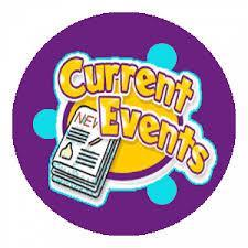 """Clip art photo that reads """"Current Events"""""""