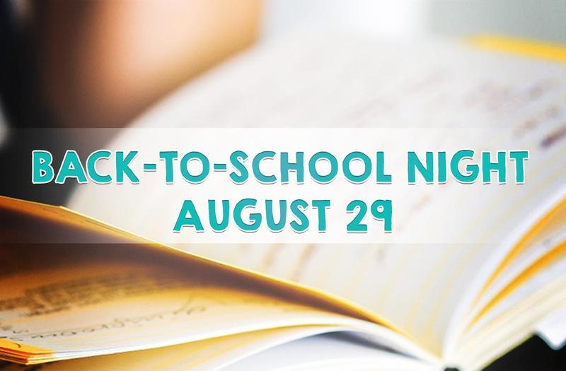 Complete Back-to-School Night Schedule