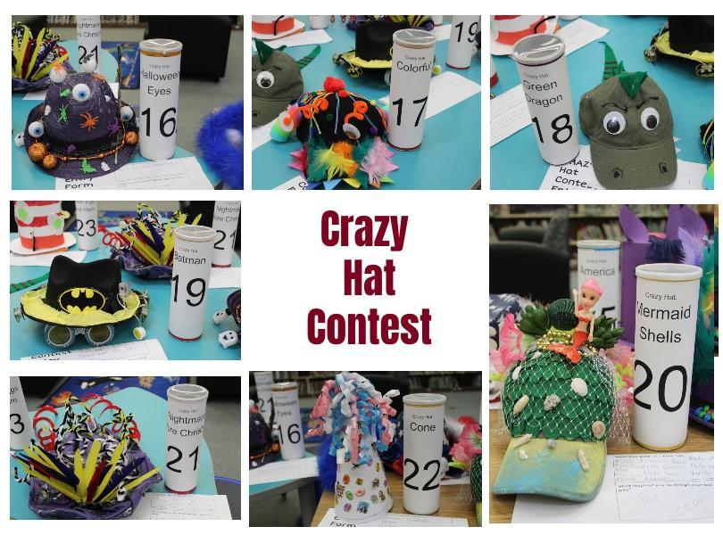 Image of crazy hats