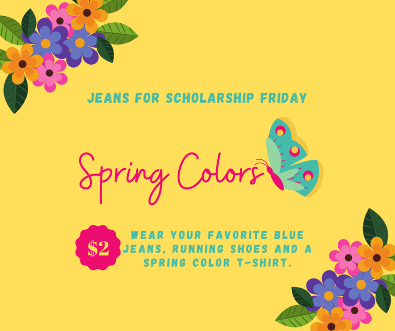 Jeans for Scholarship Day - Spring Colors Shirt Thumbnail Image