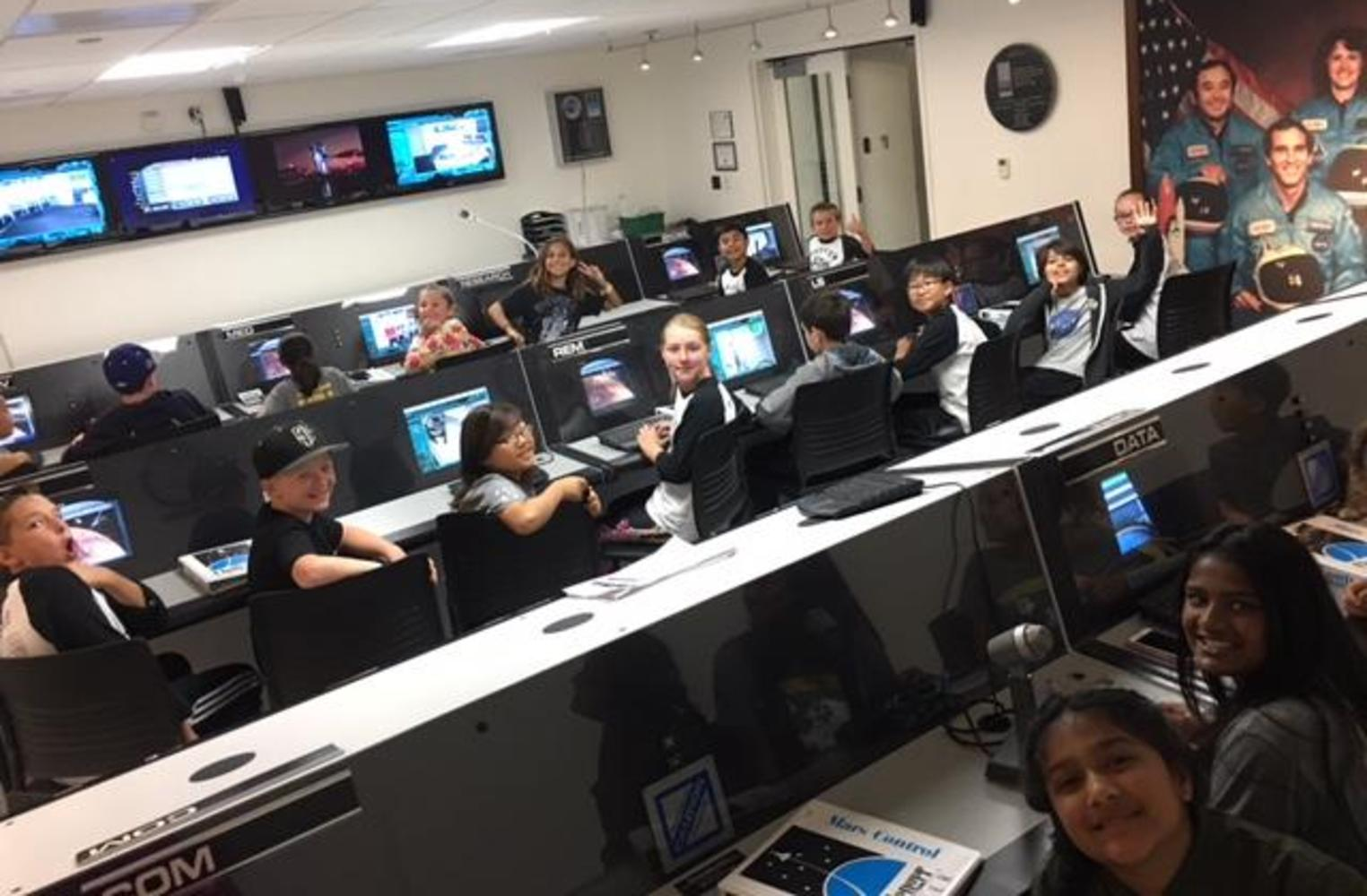 field trip to Columbia Space Mission in Downey