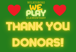 Thank You Playground Donors