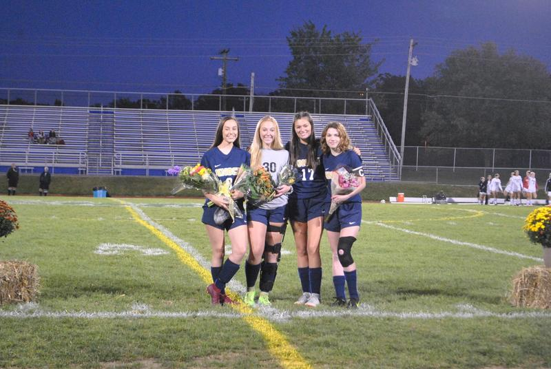 Pic of Knoch Girls' Soccer senior players