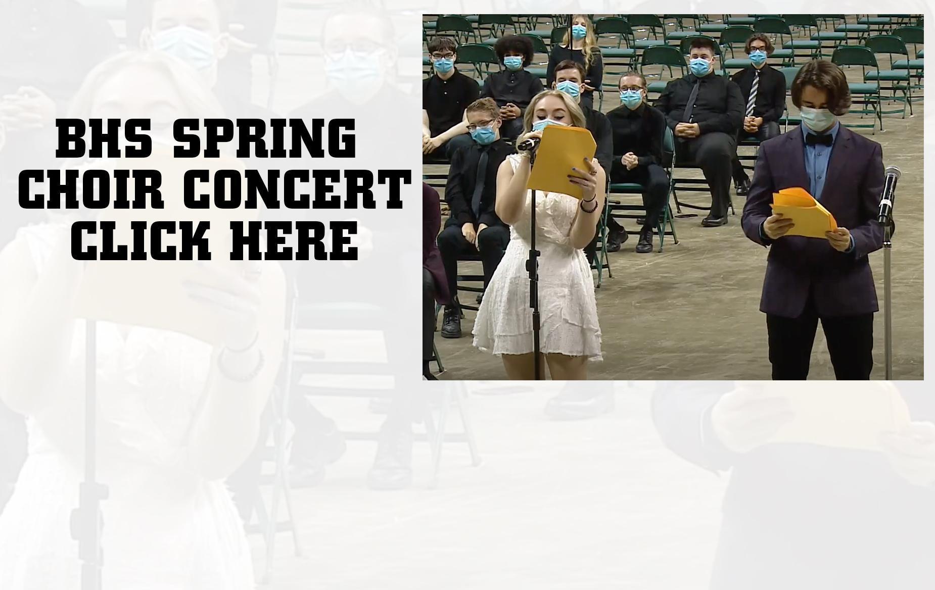 BHS Spring Choir Concert
