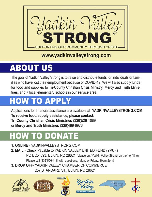 Yadkin Valley Strong