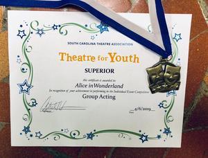 Superior award picture