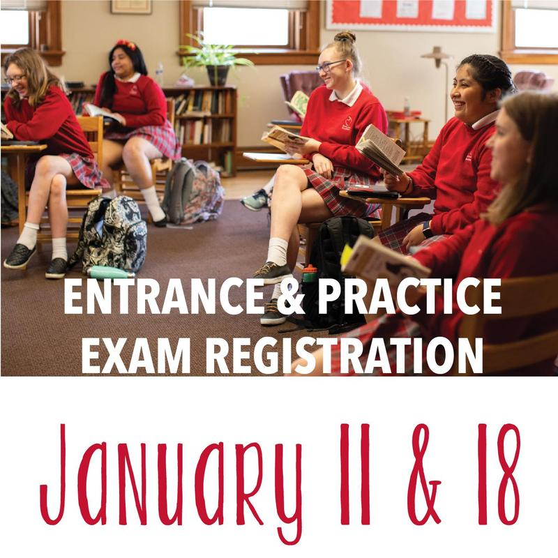 Entrance & Practice Exam Registration Featured Photo