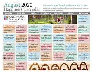 Happiness Calendar