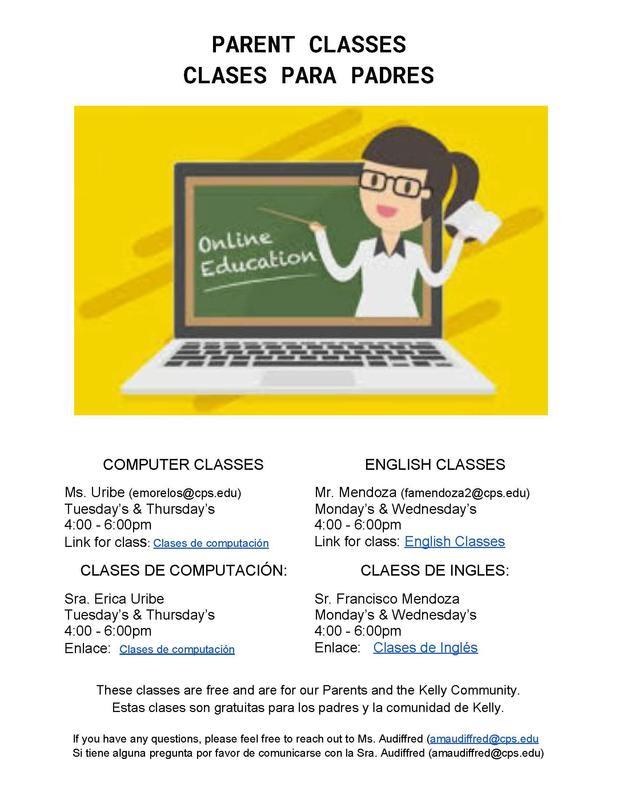 PARENT CLASSES | CLASES PARA PADRES Featured Photo