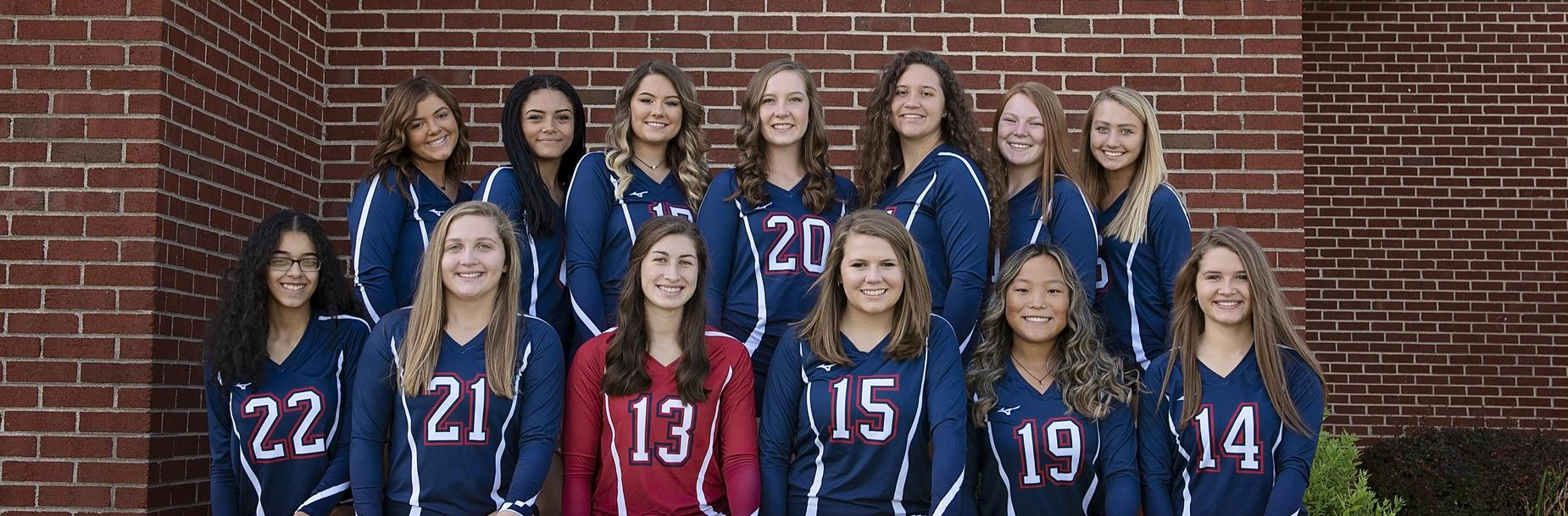 2019-2020 Carlinville High School Varsity Volleyball Team