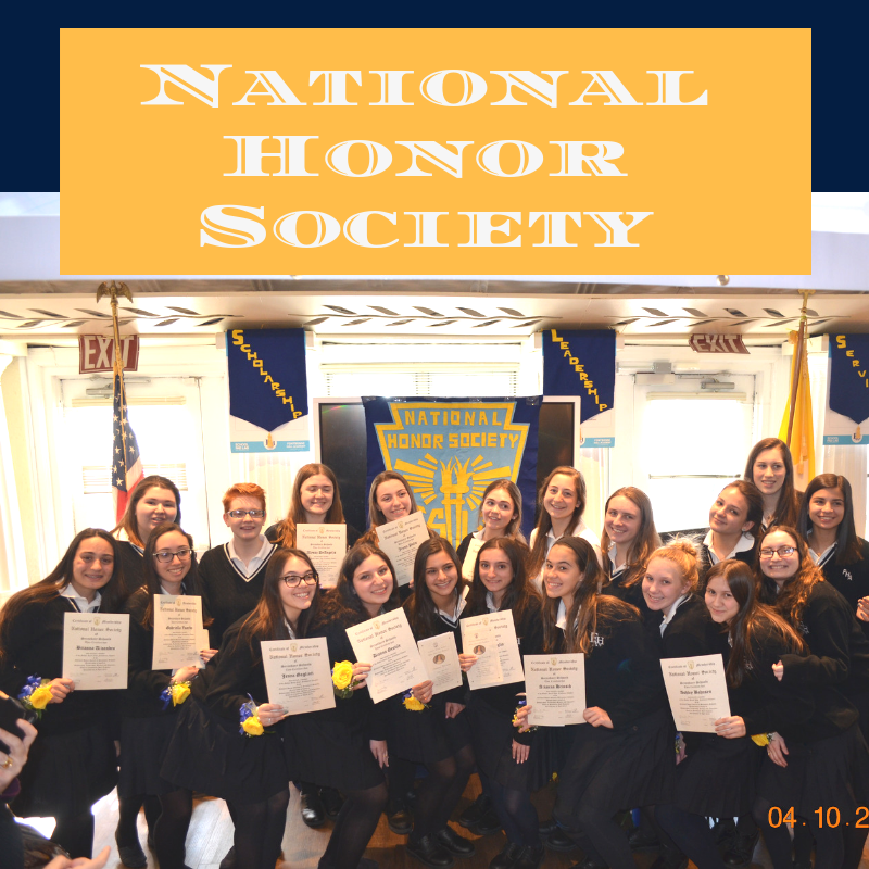 NATIONAL HONOR SOCIETY Thumbnail Image