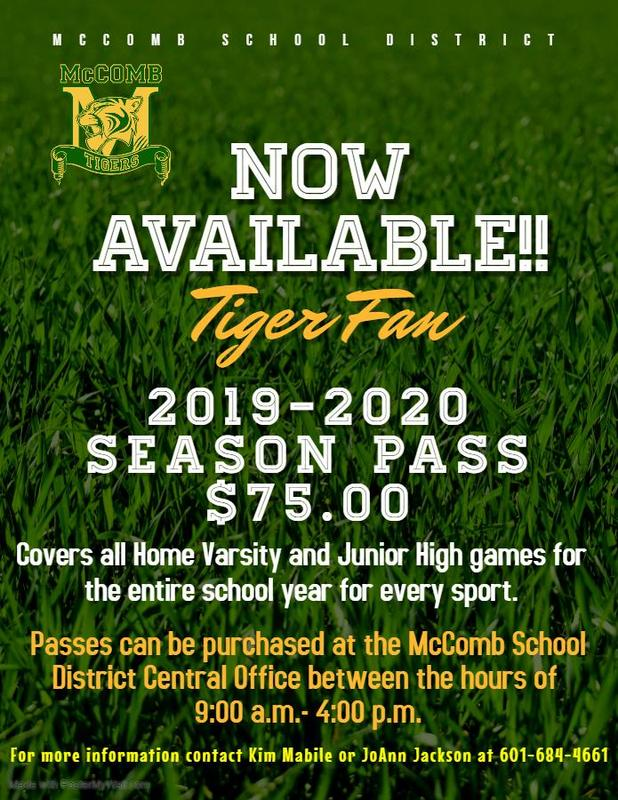 McComb School District Athletic News 2019 #WeWantMore!