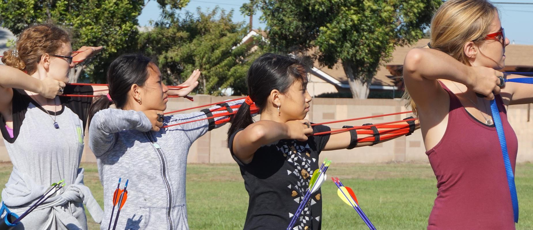 archery team picture