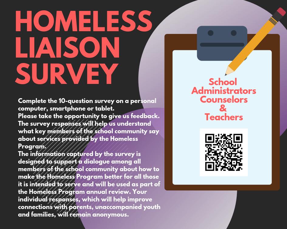 Homeless Program Survey