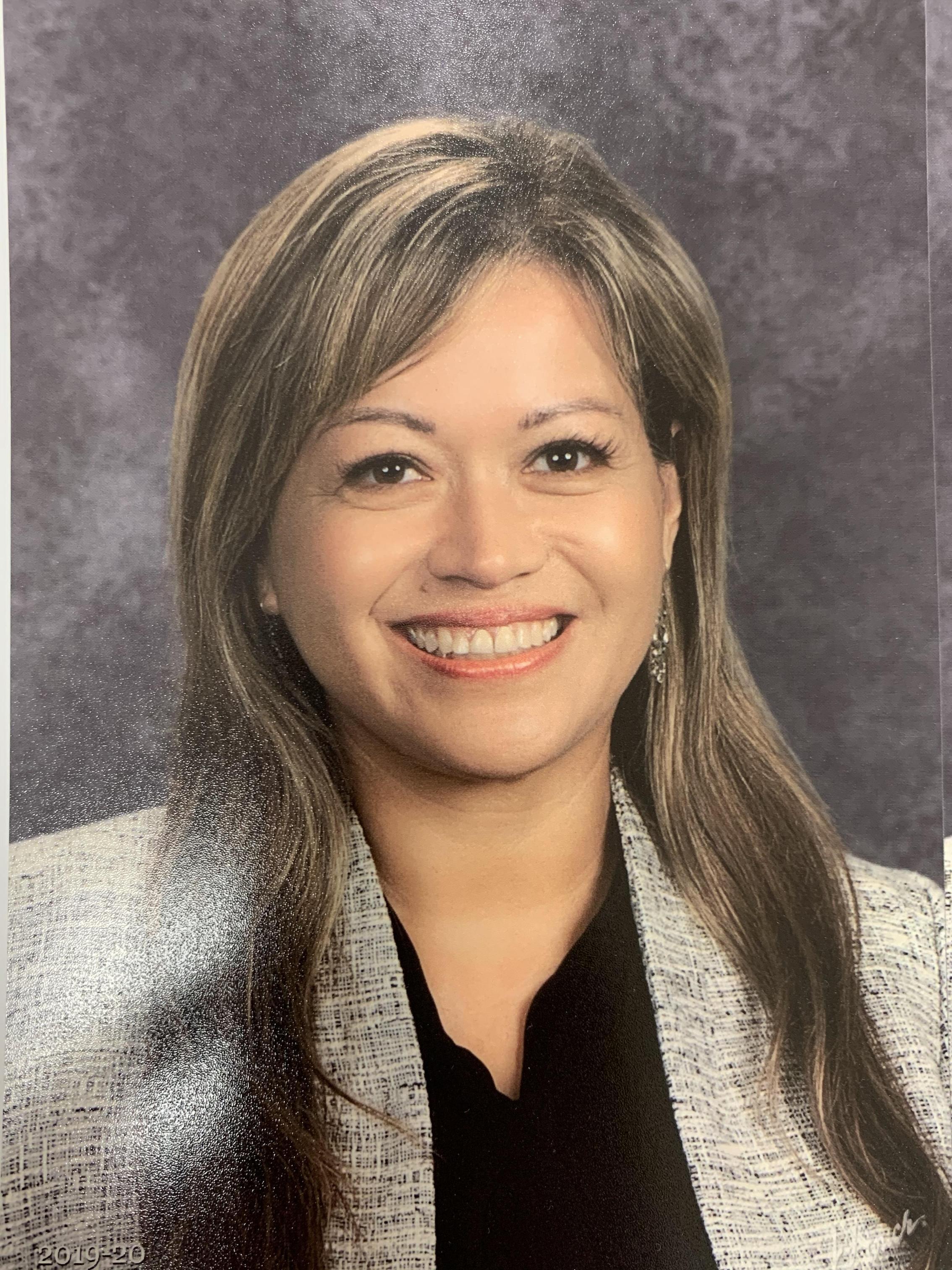 Superintendent, Dr. Martinez-Poulin