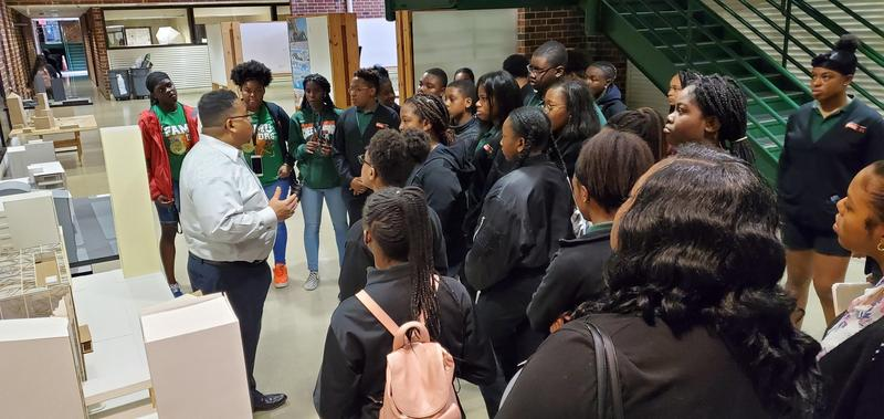 FAMU DRS Students Attend FAMU SAET