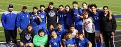 The Brewer Bear Soccer Team advanced to the Bi-District Playoffs. The boys will play at 7 p.m. Thursday, March 28 vs. The Colony at Flower Mound Marcus High School. Blue out for our Bears and shown up loud and proud!