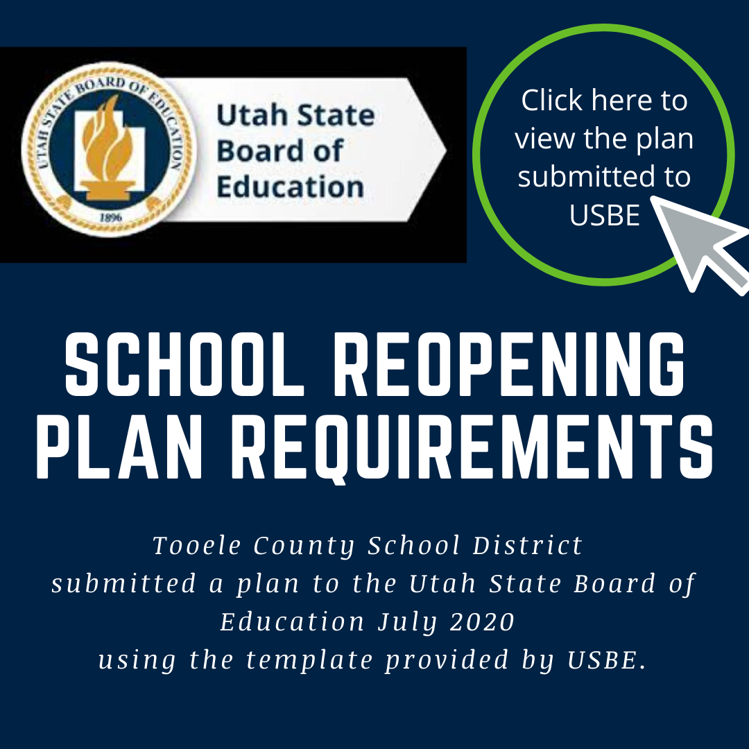 button for TCSD plan submitted to USBE