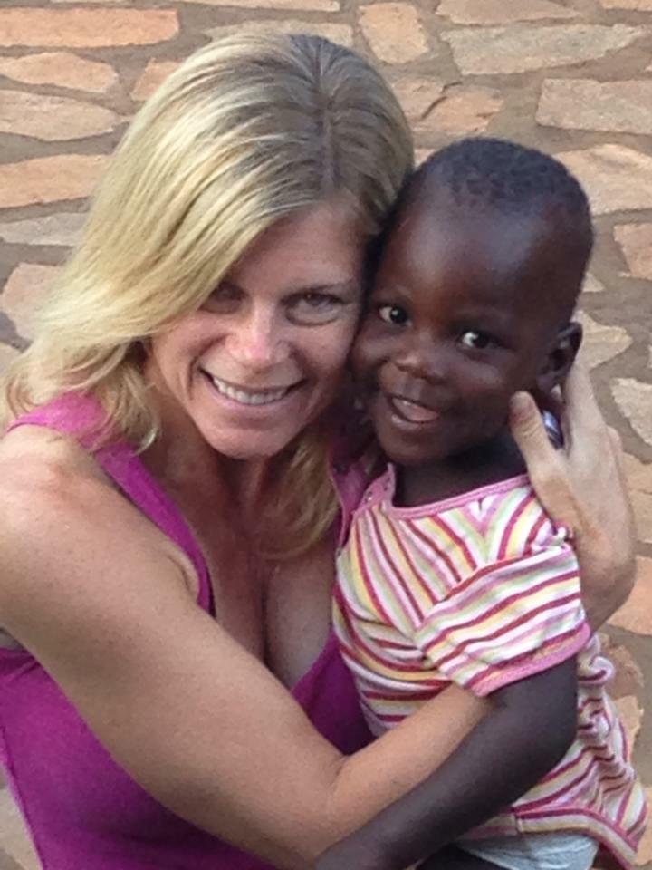 A little boy named Izzy.  My husband and I sponsor him in school.