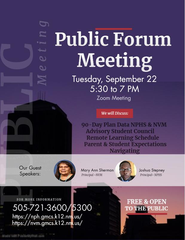 Public Forum Meeting Featured Photo