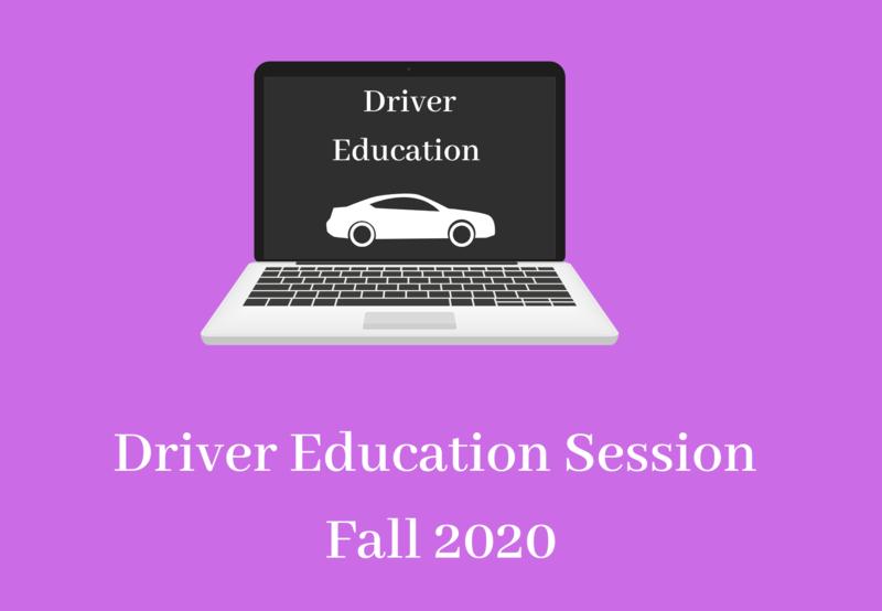 Driver education fall 2020