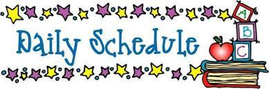 Daily Schedule Picture