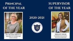 Principal and Supervisor of the Year