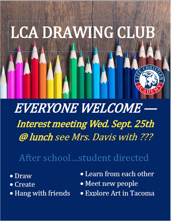 Drawing Club Featured Photo
