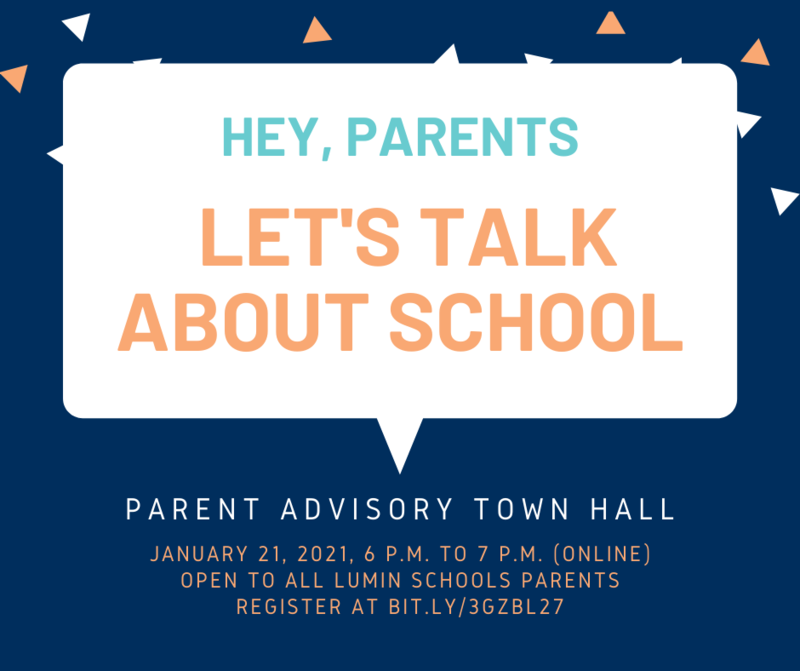 Parent Advisory Town Hall