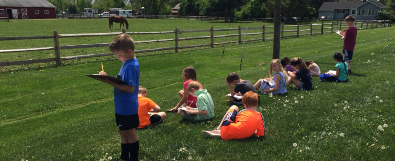 Outdoor Learning on BT's Fields