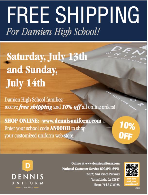 Dennis Uniforms Online Sale This Weekend! Featured Photo