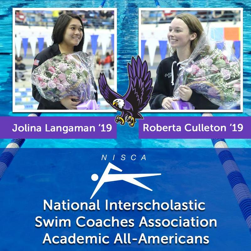 Two Swimmers Named Academic All-Americans Featured Photo