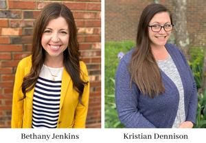 The Cheatham County School District is excited to announce that Bethany Jenkins has been named the new elementary academic coordinator and Kristian Dennison has been selected as the new secondary academic coordinator.