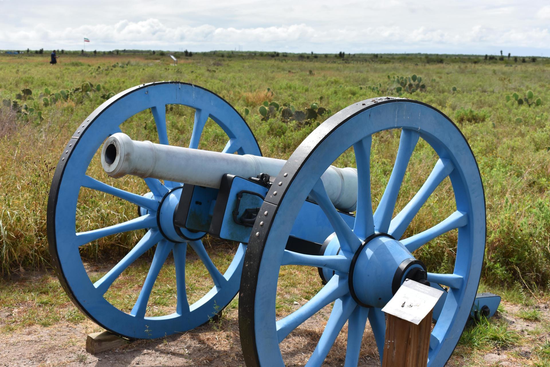Blue cannon
