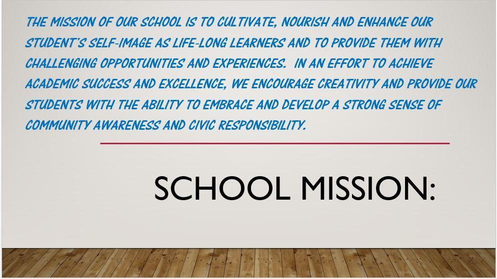 PS116K's Mission Statement