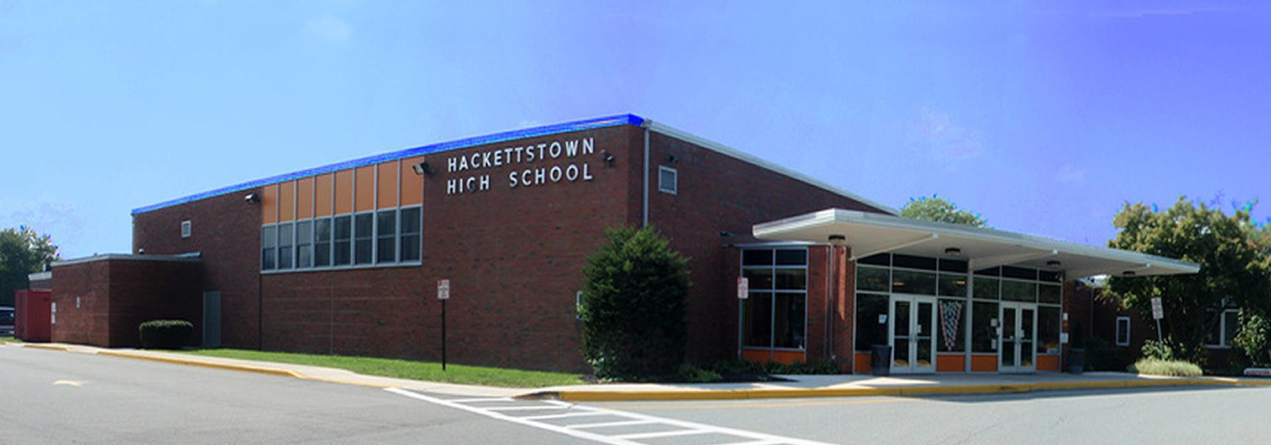 Hackettstown HS front of building