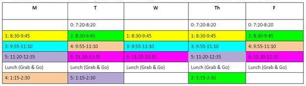 CCMS CAASP Testing Schedule Thumbnail Image