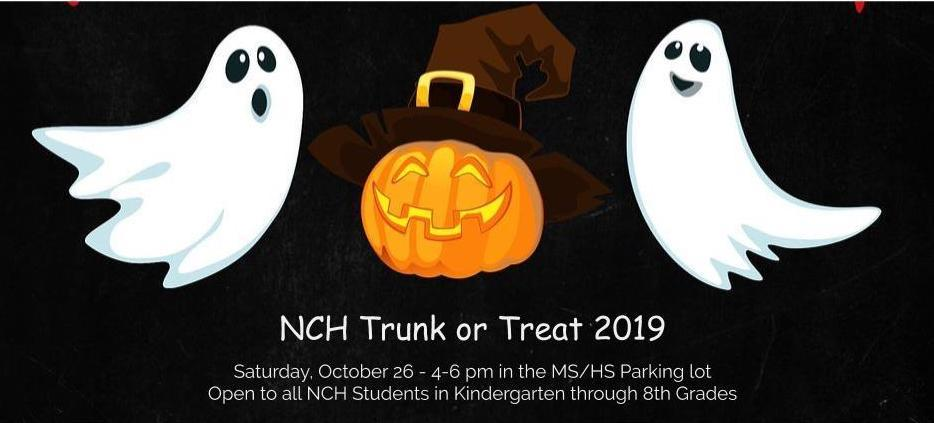 Trunk or Treat Flier 2019