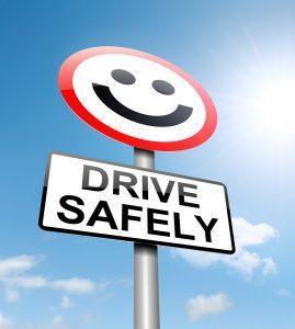 drive safely smiley face