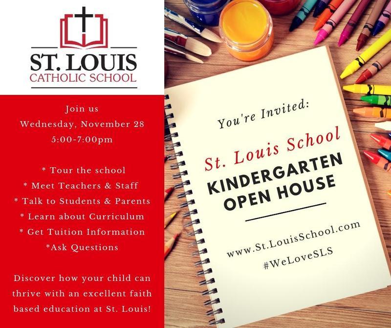 Kindergarten Open House - November 28th, 5-7 pm Thumbnail Image