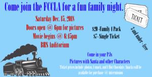 FCCLA Family Night